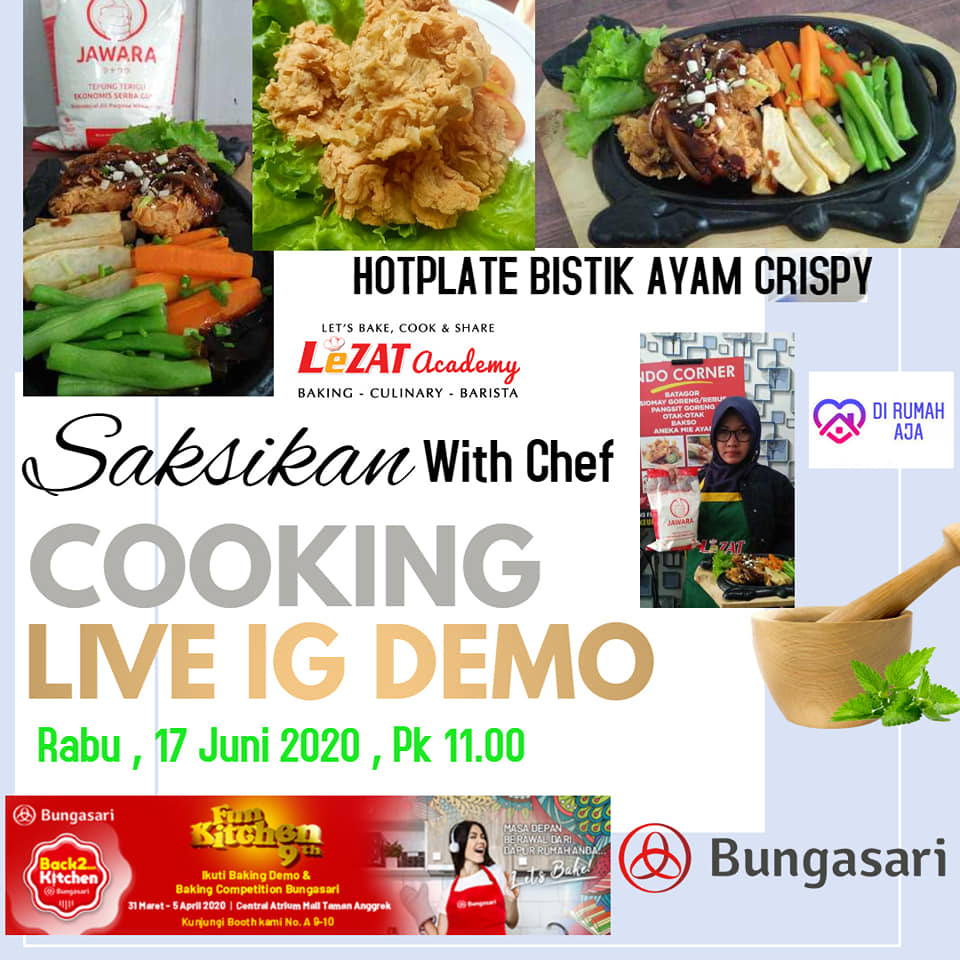 Cooking Demo Live IG LeZAT Academy