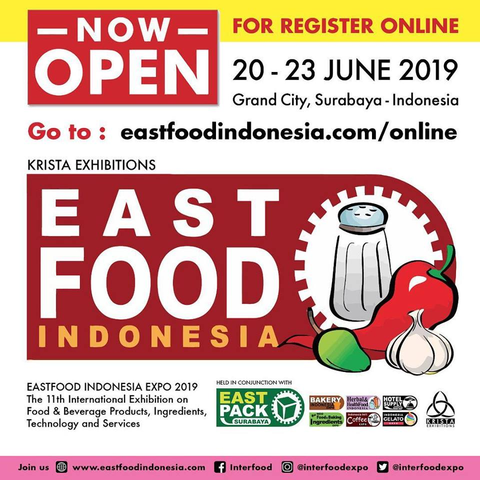 EASTFOOD & EAST PACK EXPO SURABAYA 2019