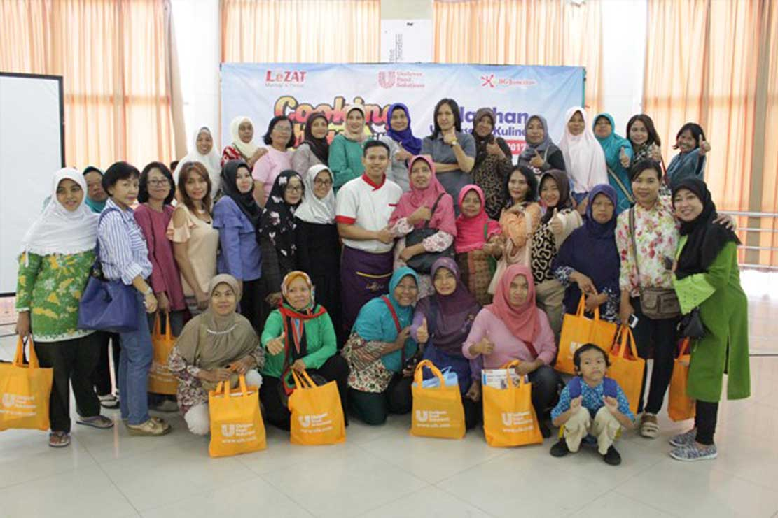 Lezat Mantap & Hebat Gelar Cooking Show with Unilever Food Solution