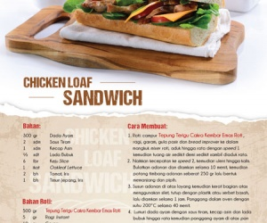 Chicken Loaf Sandwich