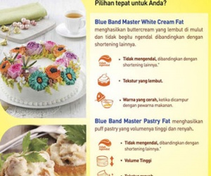 Blue Band Master White Cream Fat & Blue Band Maste...