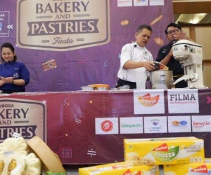 Sriboga Flour Mill Gelar Baking Workshop Sekaligus...